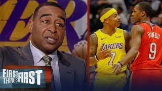 Cris Carter thinks Rajon Rondo was 'petty' for picking fight with Isaiah Thomas   FIRST THINGS FIRST