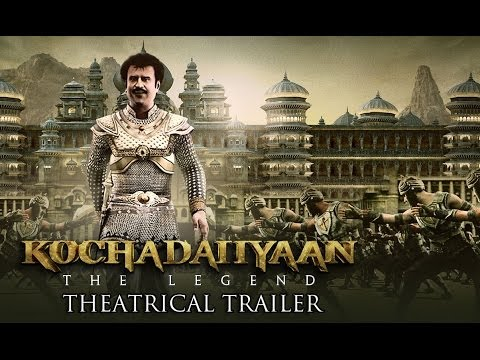 Kochadaiiyaan - The Legend - Official Trailer Ft. Rajinikanth, Deepika Padukone video