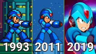 Evolution of Mega Man X Games 1993-2019