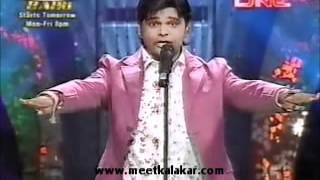 Rahul Ingle performs in Comedy Champions on Sahara One