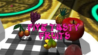 Five Tasty Fruits | Kids Song | Baby Song |  Children Song | Nursery Rhyme