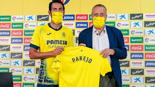 Bienvenida de Fernando Roig a Dani Parejo