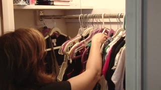 "Organization Motivation! ""DeClutter My Closet"" Seg 4"