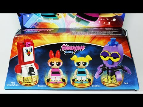 Lego Dimensions Powerpuff Girls Blossom Bubbles 71346