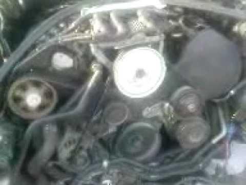 Работа двигателя AUDI A6(После