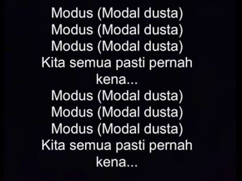 Rayi Putra - OST #MODUS ft. Andovi da Lopez, Reza Oktovian, Jovial da Lopez, Kemal Palevi _ Lyric