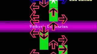 ファミコン風 DDR:Valkyrie Dimension (in NES)