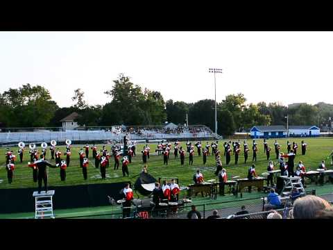 """Stebbins High School Marching band performing Metallicas """"For Whom the Bell Tolls"""""""
