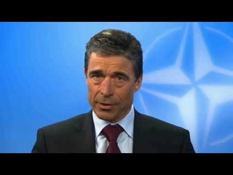 Rasmussen: NATO and Russia working together to enhance our shared security