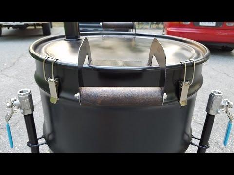 My UDS   Ugly Drum Smoker Build