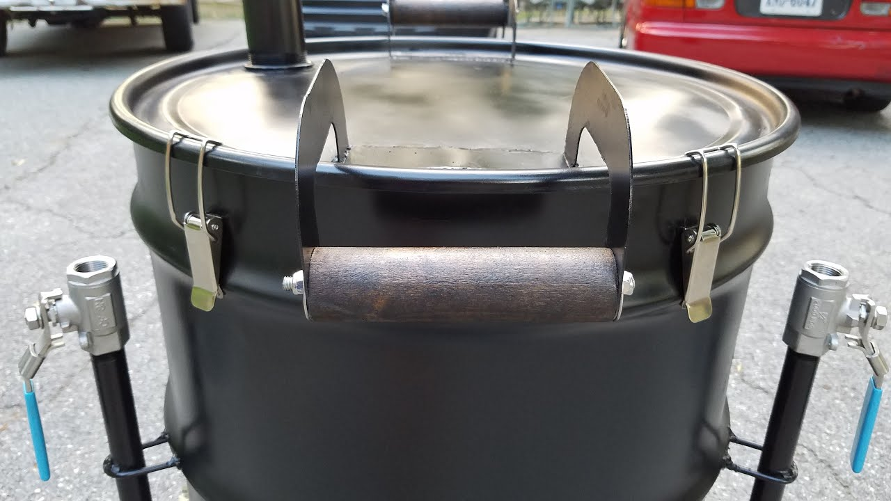 Ugly drum smoker