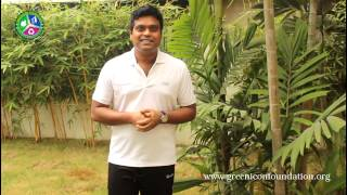 Green initiative by Harris Jayaraj on his Birthday