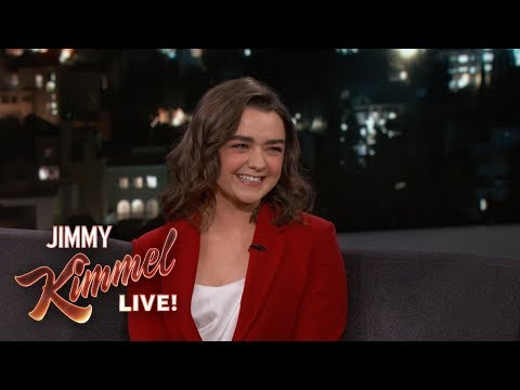 Maisie Williams Knows End To Game Of Thrones