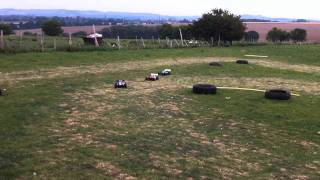 Hyper 7 + 8 Brushless 1/8th Rallycross Bashing Round 1