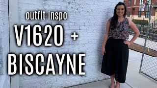 My FREE outfit feat. Vogue 1620 + Hey June Biscayne Sewing Patterns
