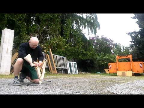 Folding Slingshot Crossbow with 90 lbs +