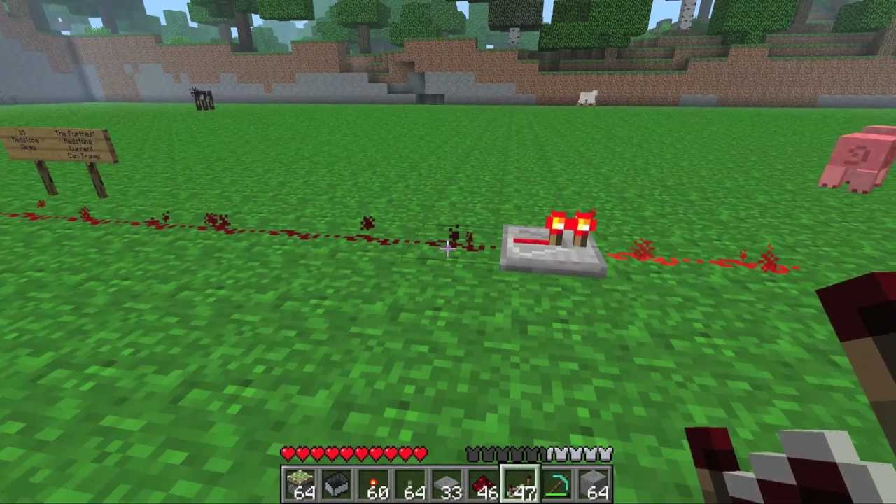 how to make redstone repeaters blink