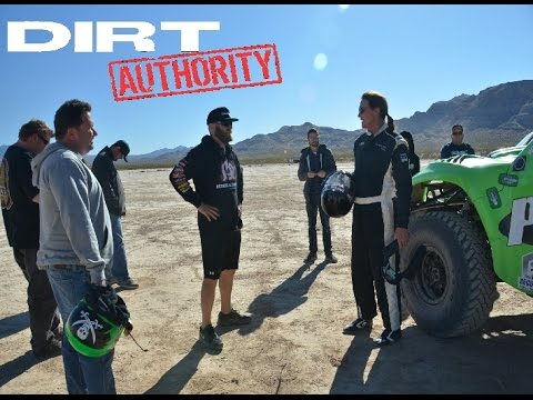 BRUCE JENNER AND BURT JENNER GET BEHIND THE WHEEL FOR THE 2014 BAJA 1000