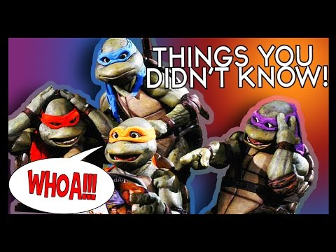 7 Teenage Mutant Ninja Turtles Facts! Cowabunga! video