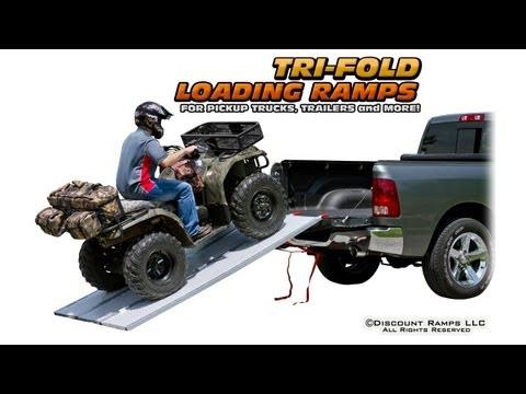 0 Tri Fold Pickup Truck Ramps