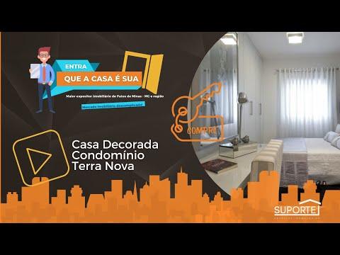 Casa decorada no Condomínio Terra Nova Patos de Minas