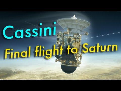 Cassini : Final Flight to Saturn