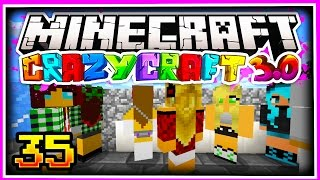Minecraft CRAZY CRAFT 3.0 SMP: GIRLFRIEND CHOOSES MY GIRLFRIEND!! - Ep 35