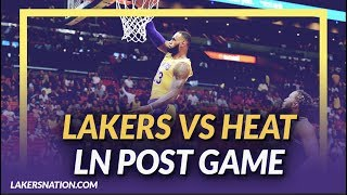 Lakers Discussion:  Lakers beat the Heat, LeBron James Drops 51, and KCP has 19 off the Bench