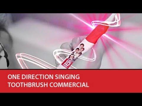 Brush Buddies - One Direction Singing Toothbrush Commercial (international)
