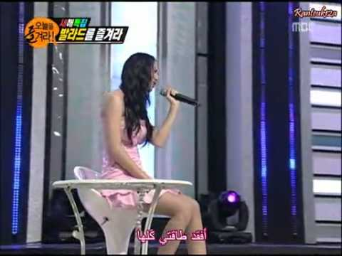 Dailymotion - 3rd Cuts (arab Sub) Enjoy Today Leeteuk   Krystal, Ballad Audition - A Arts Video.mp4 video
