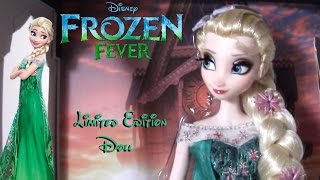 Frozen Fever - Elsa Limited Edition Doll (Disney Store) ITA