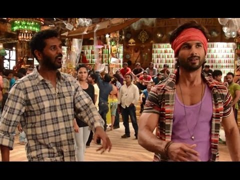 Prabhu Dheva makes Shahid Dance | R... Rajkumar