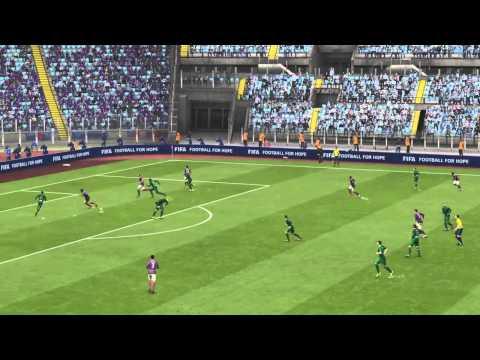 FIFA 15 Dani Alves scores amazing goal