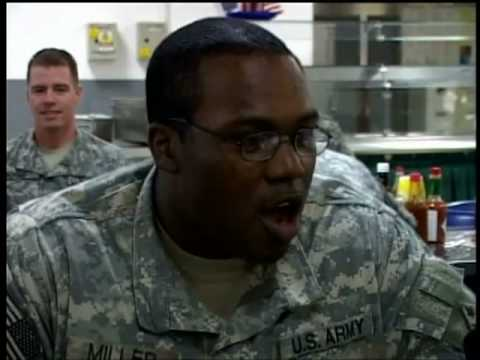 Iraq Troops React To Election