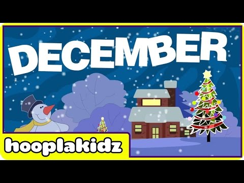 Popular Nursery Rhymes from HooplaKidz - Months Of The Year Song