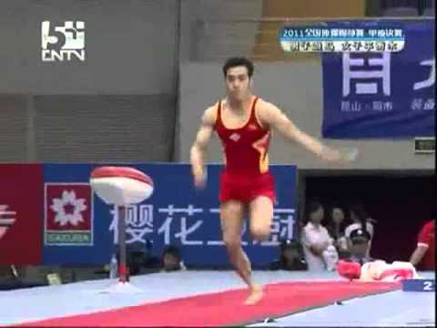 Men's VT and Women's BB Final - The 2011 Chinese National Gymnastics Championships