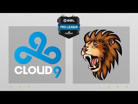 CS:GO - Cloud9 Vs. Selfless [Overpass] Map 2 - ESL Pro League Season 4 - NA Matchday 23