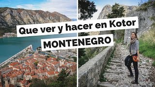 10 Cosas Que Ver y Hacer en Kotor, Montenegro Guía Turística