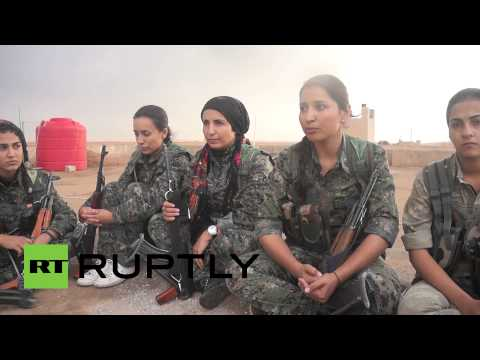 Kurdish Female Fighters Ready To Send Isis To Hell video