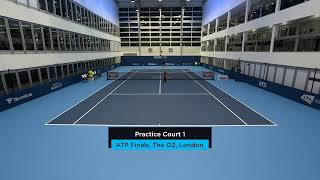 2019 Nitto ATP Finals: Live Stream Practice Court 1 (Saturday)