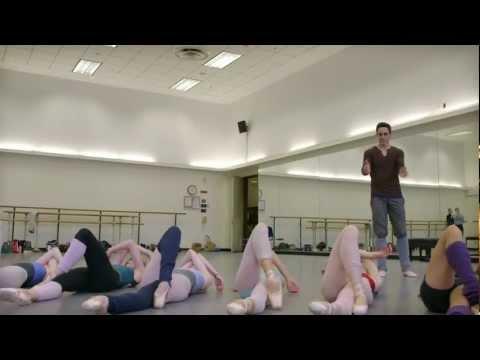 A sneak peek of Justin Peck's PAZ DE LA JOLLA at NYC Ballet