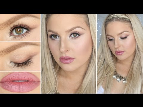 Soft Winged Eyes & Berry Pink Lips! ♡ Using Affordable Eyeshadow!