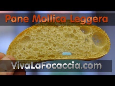 Ricetta Pane Semplice con Mollica Leggera
