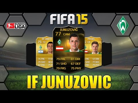 FIFA 15 IF JUNUZOVIC REVIEW | CAM 77 | SV WERDER BREMEN