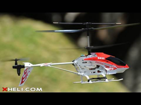 S032 3 Channel RTF Co-axial Electric Helicopter w/ Gyroscope
