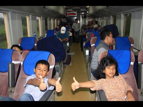 TRAIN GAJAYANA, LONG JOURNEY GAMBIR TO TULUNGAGUNG
