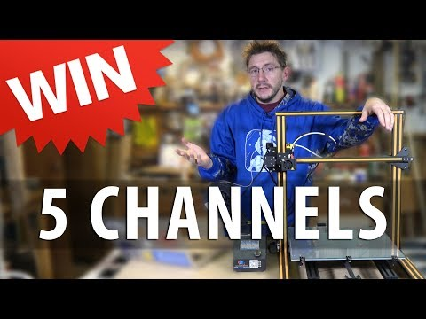 Win a CR-10 3D Printer / 5 YouTube Channels You Should Be Watching [11.11]