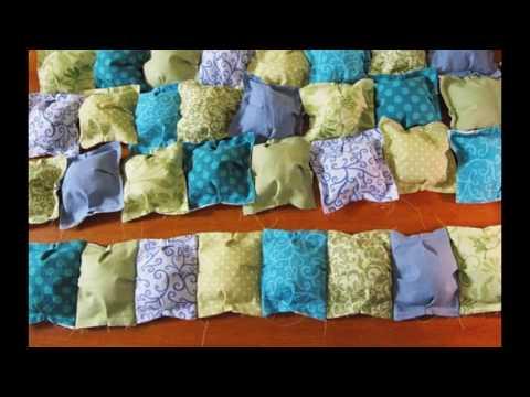 Видео лоскутное одеяло своими руками