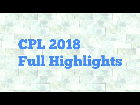 CPL 2018 Match 27 Highlights Trinbago Knights Riders vs Guyana Amazon Warrior HD