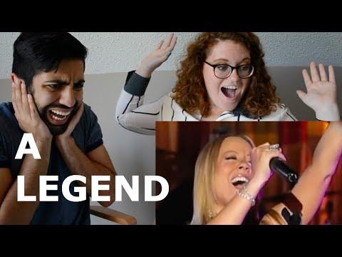 MARIAH CAREY'S BEST LIVE VOCALS (REACTION)
